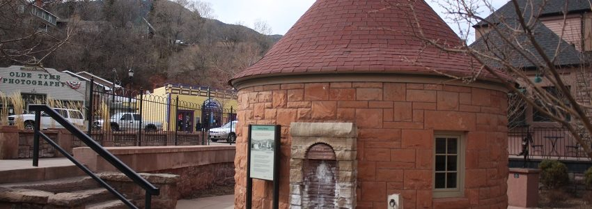 Shoshone Springs Mineral Water in Manitou Springs Colorado - Making Today