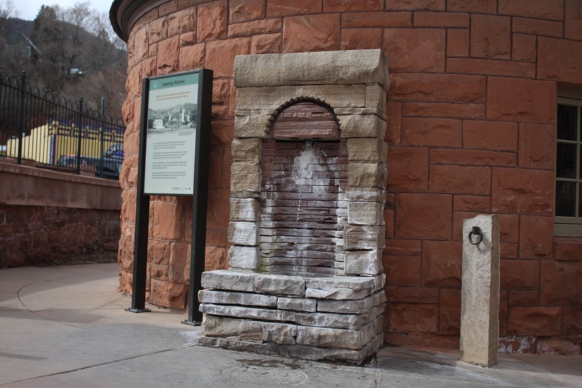 Shoshone Springs Free Mineral Water in Manitou Springs Colorado - Making Today