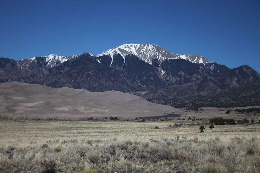 The Great Sand Dunes of Colorado with Biomes